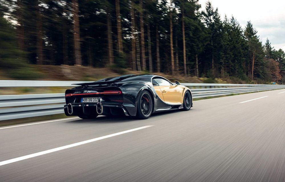 Teste la viteze de 440 km/h cu noul Bugatti Chiron Super Sport - Poza 5
