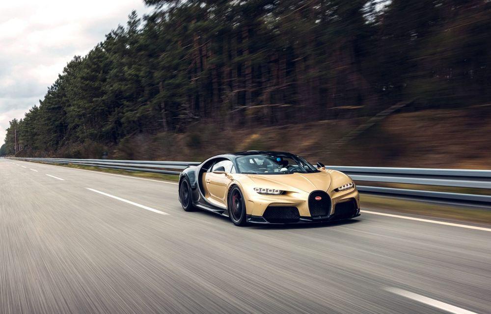 Teste la viteze de 440 km/h cu noul Bugatti Chiron Super Sport - Poza 6