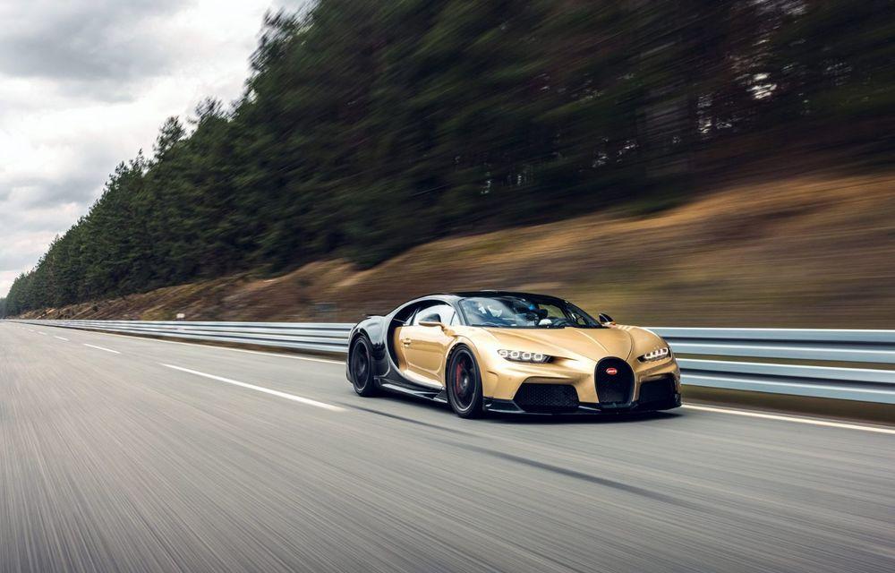 Teste la viteze de 440 km/h cu noul Bugatti Chiron Super Sport - Poza 3