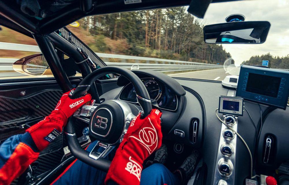 Teste la viteze de 440 km/h cu noul Bugatti Chiron Super Sport - Poza 9