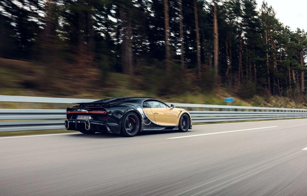 Teste la viteze de 440 km/h cu noul Bugatti Chiron Super Sport - Poza 7
