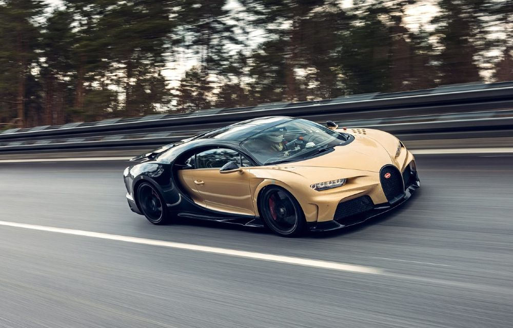 Teste la viteze de 440 km/h cu noul Bugatti Chiron Super Sport - Poza 1