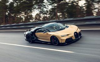 Teste la viteze de 440 km/h cu noul Bugatti Chiron Super Sport