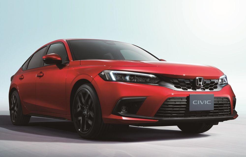 Noua generație Honda Civic pentru Europa. Disponibilă doar cu motor hibrid - Poza 3