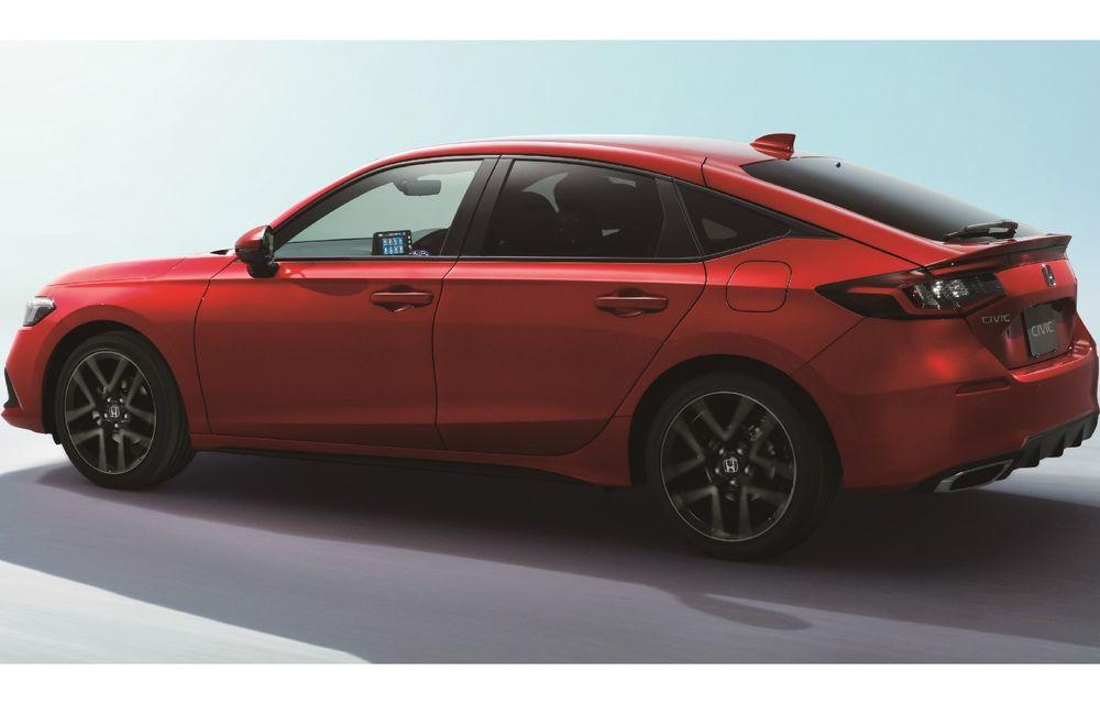 Noua generație Honda Civic pentru Europa. Disponibilă doar cu motor hibrid - Poza 2