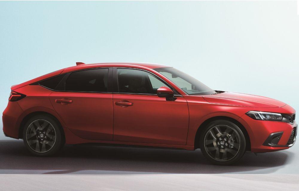 Noua generație Honda Civic pentru Europa. Disponibilă doar cu motor hibrid - Poza 1