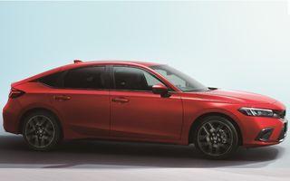 Noua generație Honda Civic pentru Europa. Disponibilă doar cu motor hibrid