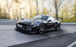 Porsche 911 GT2 RS, modificat de Manthey Racing, a devenit cea mai rapidă mașină de stradă de pe Nurburgring
