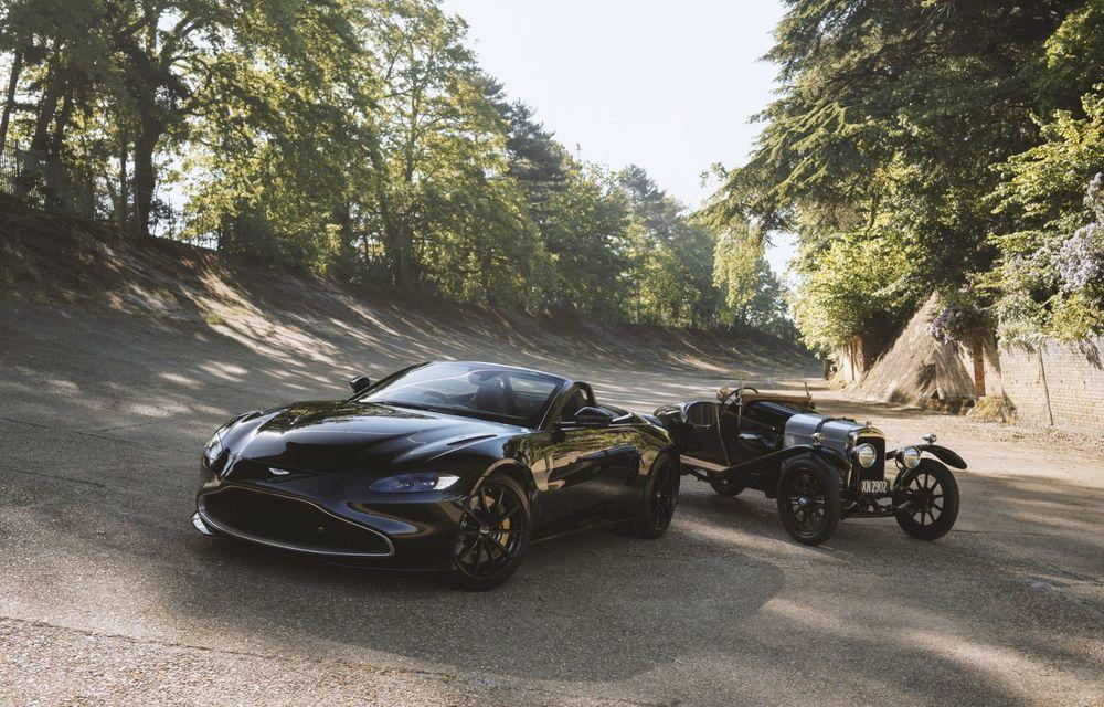 Ediția limitată A3 Vantage Roadster, dedicată celui mai vechi vehicul Aston Martin - Poza 1