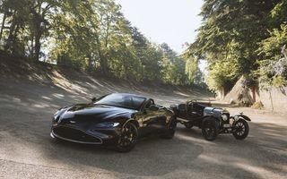 Ediția limitată A3 Vantage Roadster, dedicată celui mai vechi vehicul Aston Martin