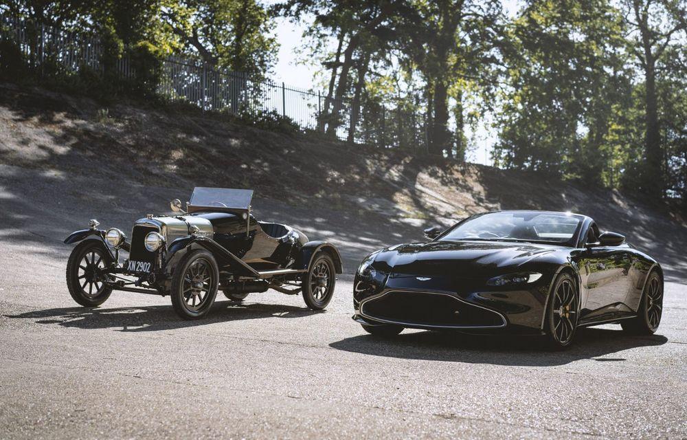 Ediția limitată A3 Vantage Roadster, dedicată celui mai vechi vehicul Aston Martin - Poza 2