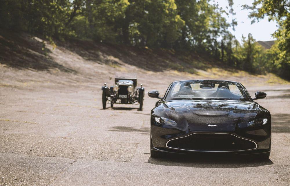 Ediția limitată A3 Vantage Roadster, dedicată celui mai vechi vehicul Aston Martin - Poza 3