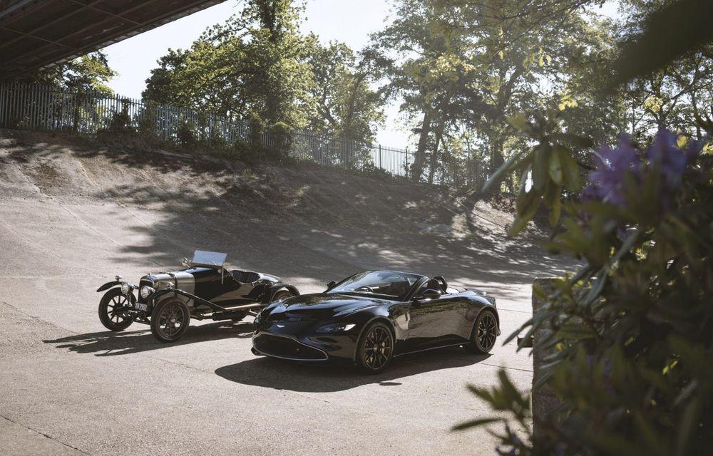 Ediția limitată A3 Vantage Roadster, dedicată celui mai vechi vehicul Aston Martin - Poza 5
