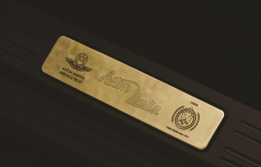 Ediția limitată A3 Vantage Roadster, dedicată celui mai vechi vehicul Aston Martin - Poza 13