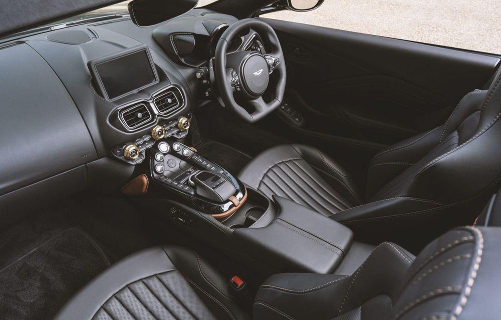 Ediția limitată A3 Vantage Roadster, dedicată celui mai vechi vehicul Aston Martin - Poza 7