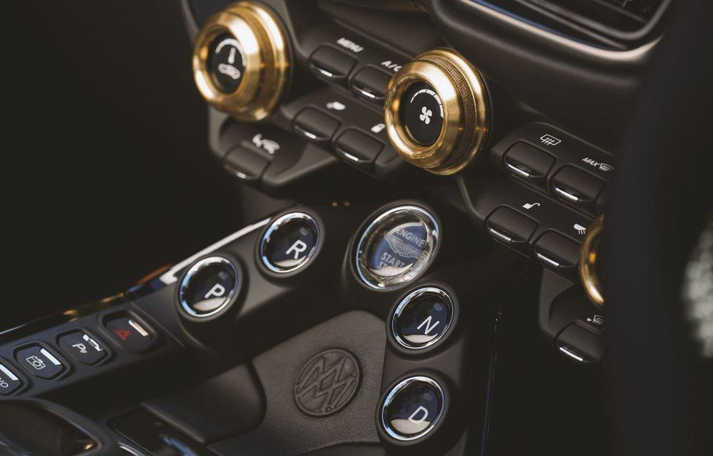 Ediția limitată A3 Vantage Roadster, dedicată celui mai vechi vehicul Aston Martin - Poza 8