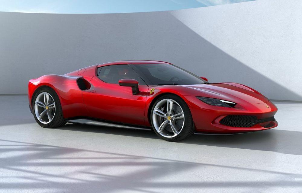 PREMIERĂ: Ferrari 296 GTB se lansează cu motor V6 plug-in hybrid, 830 CP și 25 de km autonomie electrică - Poza 1
