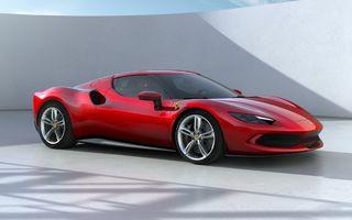 PREMIERĂ: Ferrari 296 GTB se lansează cu motor V6 plug-in hybrid, 830 CP și 25 de km autonomie electrică