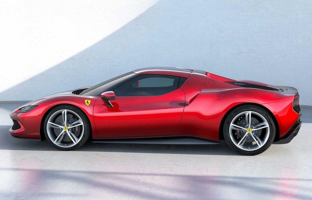 PREMIERĂ: Ferrari 296 GTB se lansează cu motor V6 plug-in hybrid, 830 CP și 25 de km autonomie electrică - Poza 5