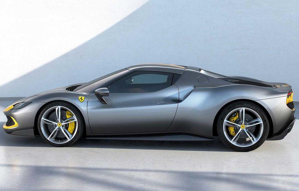 PREMIERĂ: Ferrari 296 GTB se lansează cu motor V6 plug-in hybrid, 830 CP și 25 de km autonomie electrică - Poza 3