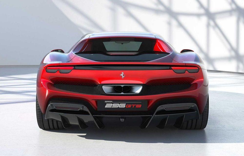PREMIERĂ: Ferrari 296 GTB se lansează cu motor V6 plug-in hybrid, 830 CP și 25 de km autonomie electrică - Poza 6