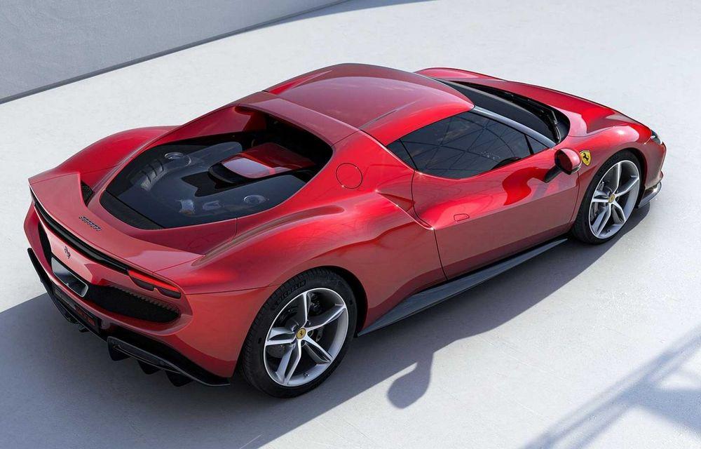 PREMIERĂ: Ferrari 296 GTB se lansează cu motor V6 plug-in hybrid, 830 CP și 25 de km autonomie electrică - Poza 7