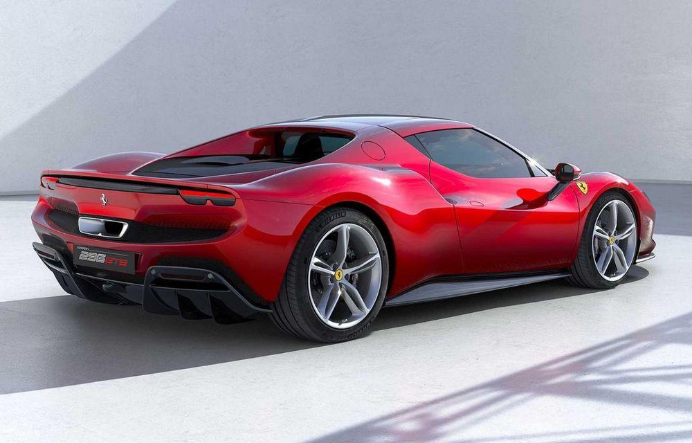 PREMIERĂ: Ferrari 296 GTB se lansează cu motor V6 plug-in hybrid, 830 CP și 25 de km autonomie electrică - Poza 8