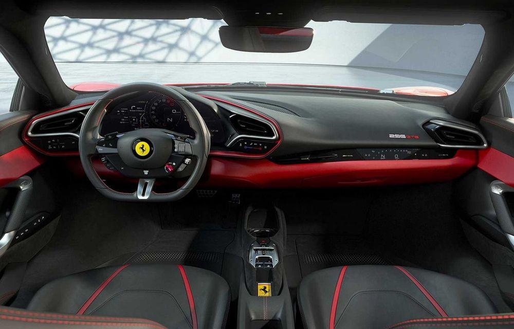 PREMIERĂ: Ferrari 296 GTB se lansează cu motor V6 plug-in hybrid, 830 CP și 25 de km autonomie electrică - Poza 9