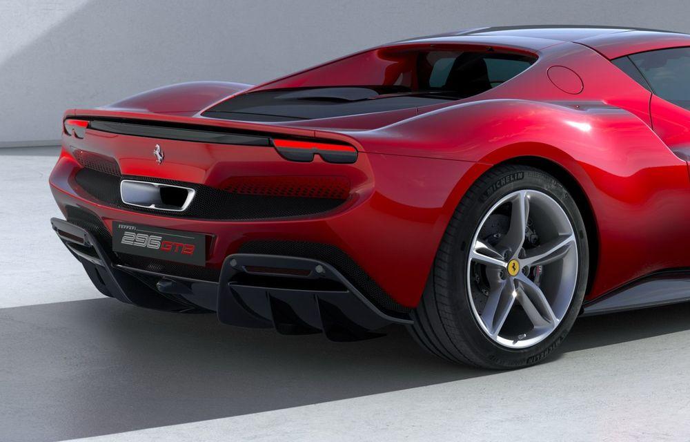 PREMIERĂ: Ferrari 296 GTB se lansează cu motor V6 plug-in hybrid, 830 CP și 25 de km autonomie electrică - Poza 15