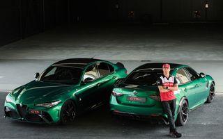 Cum se simte noua Alfa Romeo Giulia GTAm în mâinile unui fost campion mondial de Formula 1