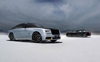 Rolls-Royce Wraith și Dawn Black Badge primesc ediția specială Landspeed Collection