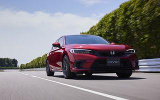 Viitoarele Honda Civic Hybrid și Civic Type R confirmate pentru 2022