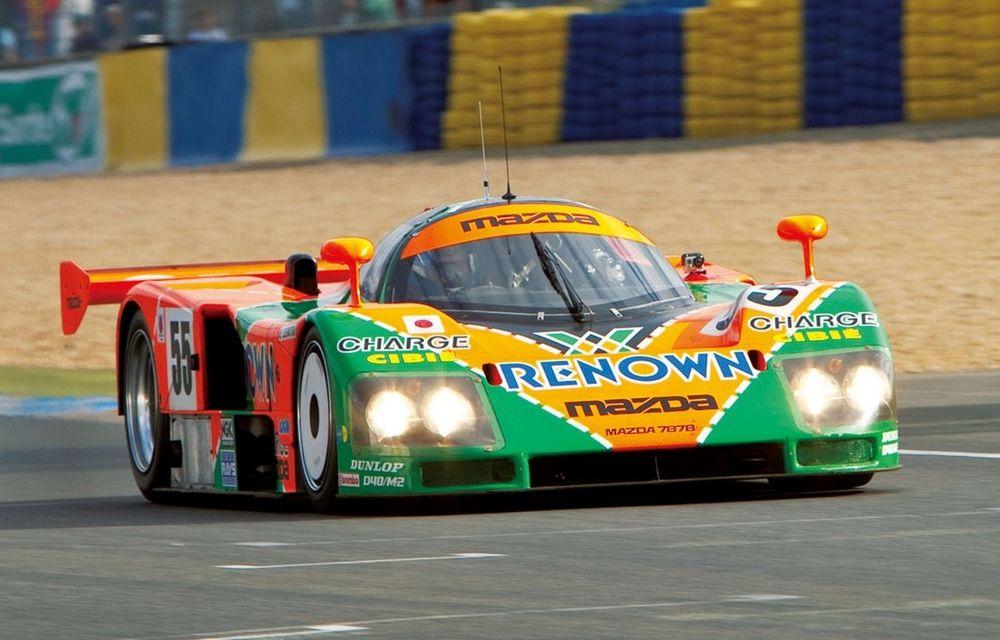 În urmă cu 30 de ani, Mazda câștiga la Le Mans cu legendarul 787B și al său motor rotativ - Poza 1