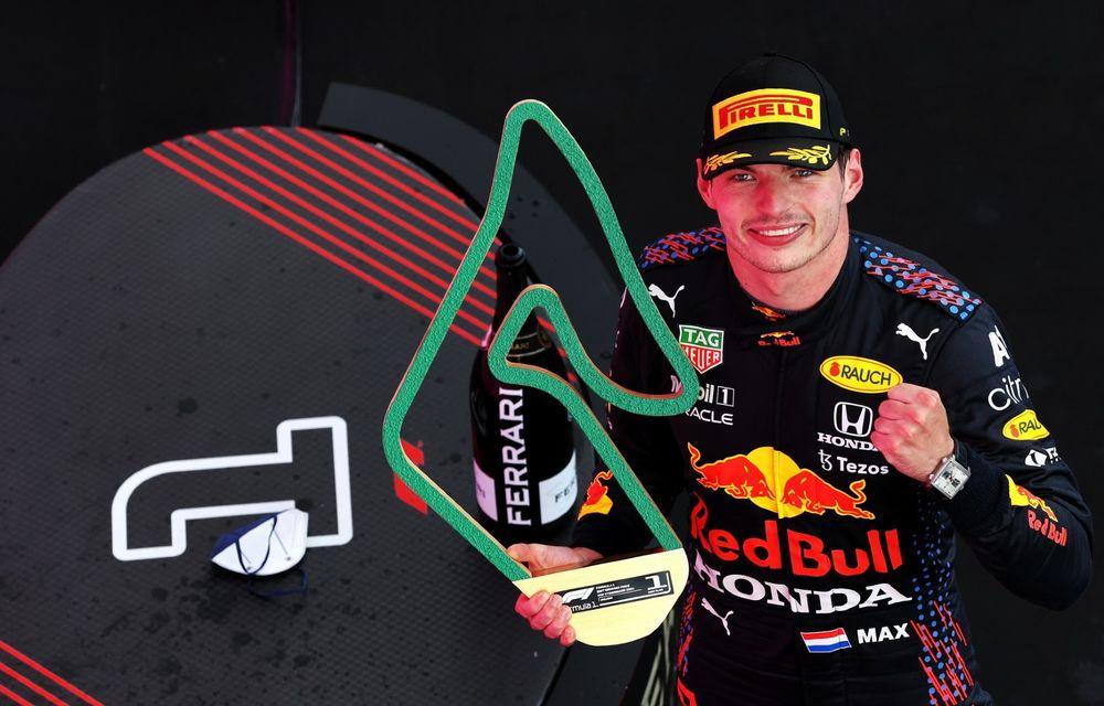 Verstappen, victorie fără emoții pe circuitul de casă al echipei sale. Hamilton și Bottas au completat podiumul - Poza 1