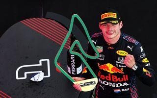 Verstappen, victorie fără emoții pe circuitul de casă al echipei sale. Hamilton și Bottas au completat podiumul