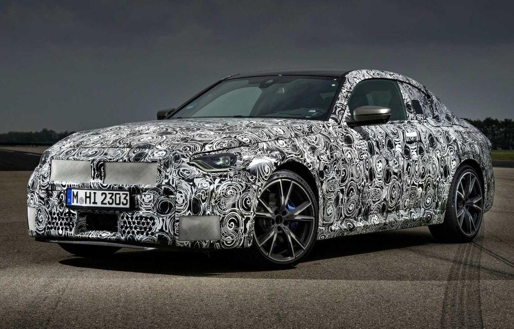 Noua generație BMW Seria 2 debutează în 8 iulie, cu ocazia Festivalului Vitezei de la Goodwood - Poza 1