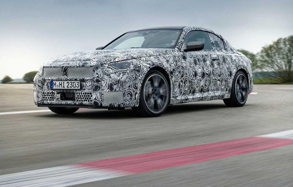 Noua generație BMW Seria 2 debutează în 8 iulie, cu ocazia Festivalului Vitezei de la Goodwood - Poza 2