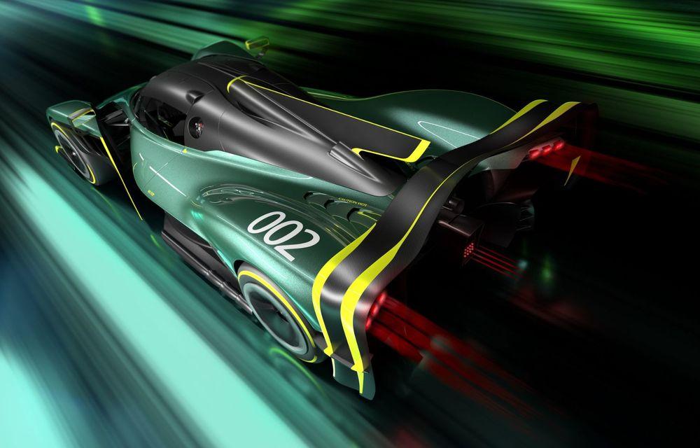 Aston Martin Valkyrie AMR Pro: versiune dedicată exclusiv circuitului cu 1.014 cai putere - Poza 6