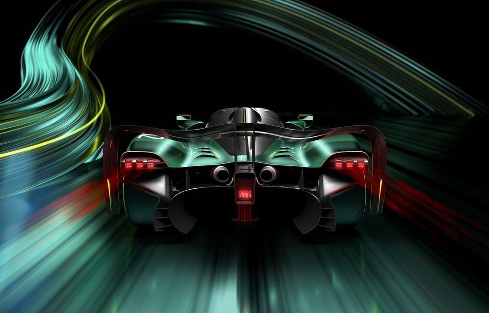 Aston Martin Valkyrie AMR Pro: versiune dedicată exclusiv circuitului cu 1.014 cai putere - Poza 4