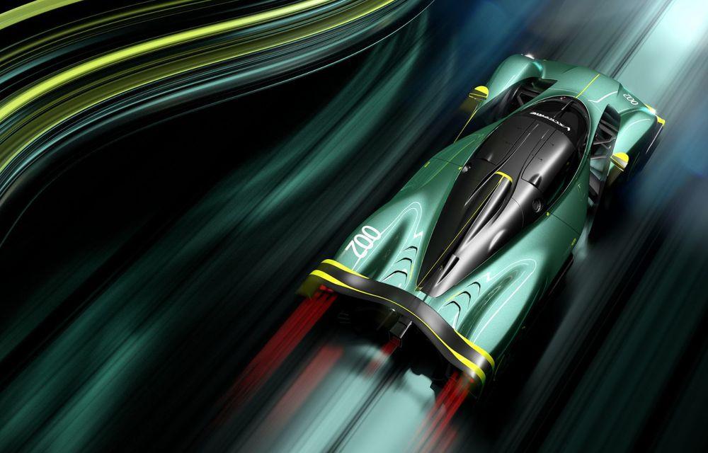 Aston Martin Valkyrie AMR Pro: versiune dedicată exclusiv circuitului cu 1.014 cai putere - Poza 7