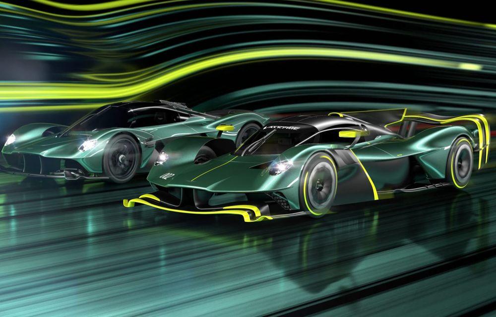 Aston Martin Valkyrie AMR Pro: versiune dedicată exclusiv circuitului cu 1.014 cai putere - Poza 2