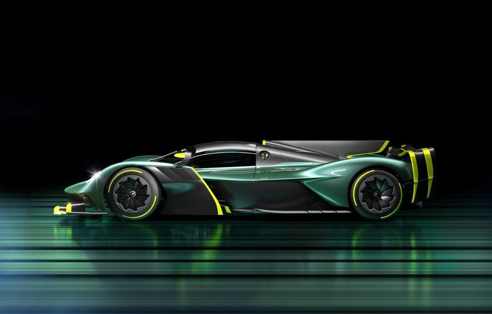 Aston Martin Valkyrie AMR Pro: versiune dedicată exclusiv circuitului cu 1.014 cai putere - Poza 5