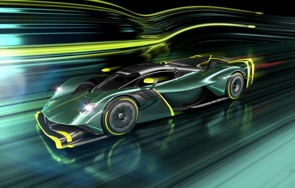 Aston Martin Valkyrie AMR Pro: versiune dedicată exclusiv circuitului cu 1.014 cai putere - Poza 1