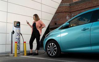 Enel X a instalat puncte de încărcare pentru mașini electrice în supermarketurile Mega Image din București și alte patru județe