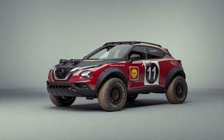 Conceptul Nissan Juke Rally Tribute celebrează 50 de ani de la victoria lui 240Z în East Africa Rally