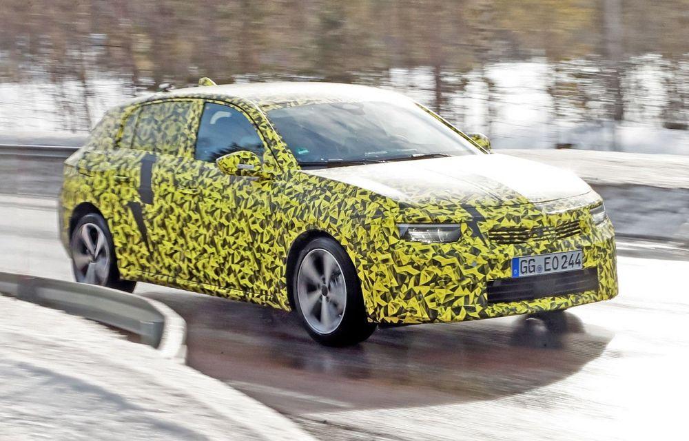 Opel dezvăluie primele imagini sub camuflaj cu noua generație Astra - Poza 1