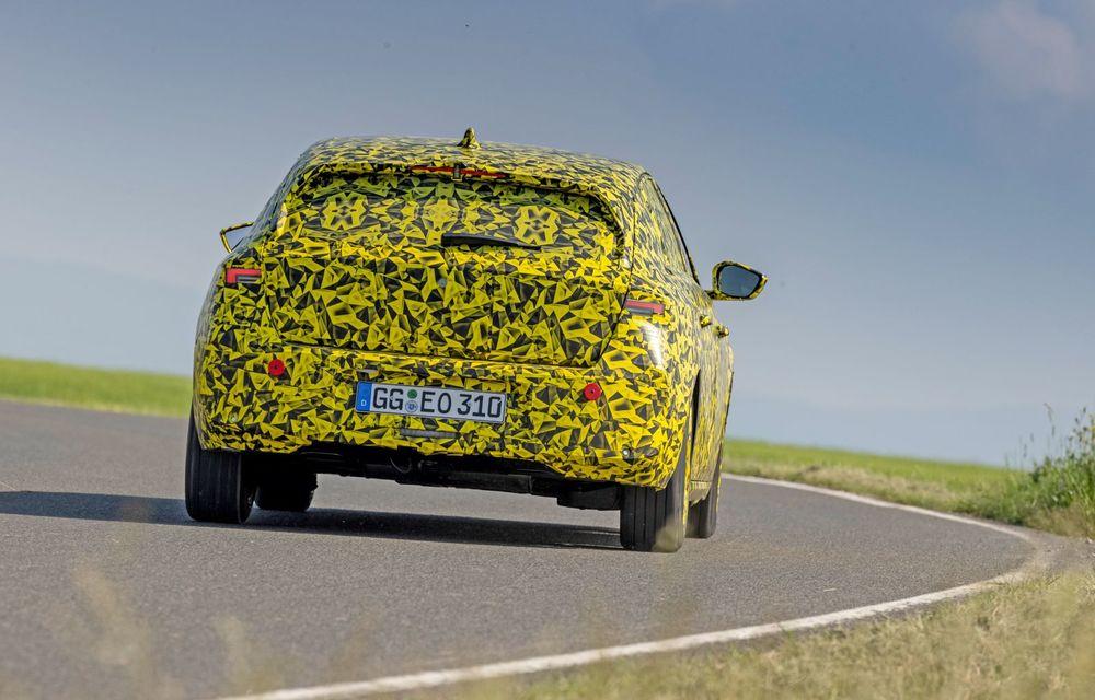 Opel dezvăluie primele imagini sub camuflaj cu noua generație Astra - Poza 6