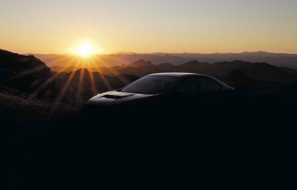Subaru a publicat prima imagine cu viitorul WRX - Poza 1