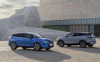 Nissan a primit peste 10.000 de comenzi pentru noul Qashqai în Europa