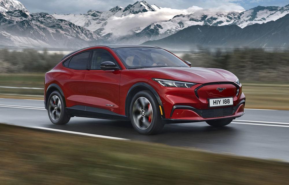 Ford Mustang Mach-E va fi echipat cu anvelope Continental produse la Timișoara - Poza 1